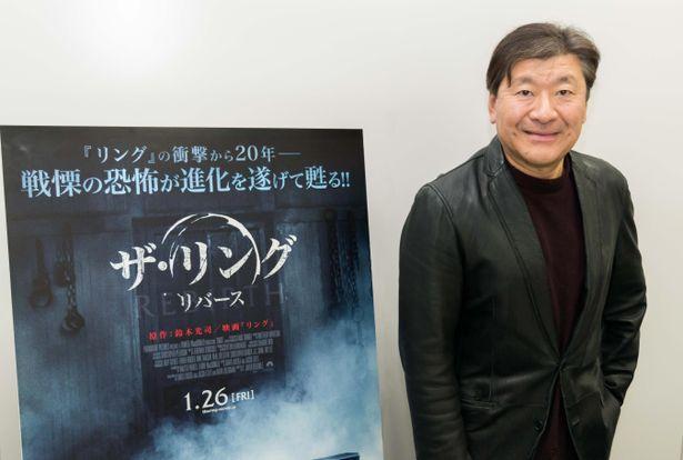鈴木光司が「リング」シリーズ最新作について語る!