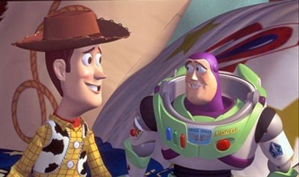 ブルーレイでよみがえる、ウッディとバズの冒険にワクワク! 写真は『1』のワンシーン