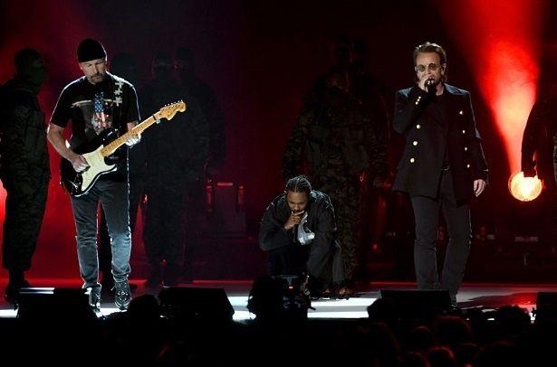 ケンドリック・ラマー&U2がグラミー賞の舞台へ