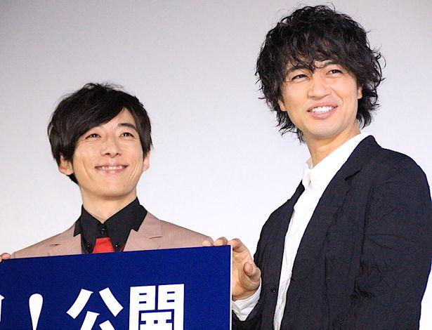 齊藤工、初長編監督作品の公開に「幸せ」と笑顔!
