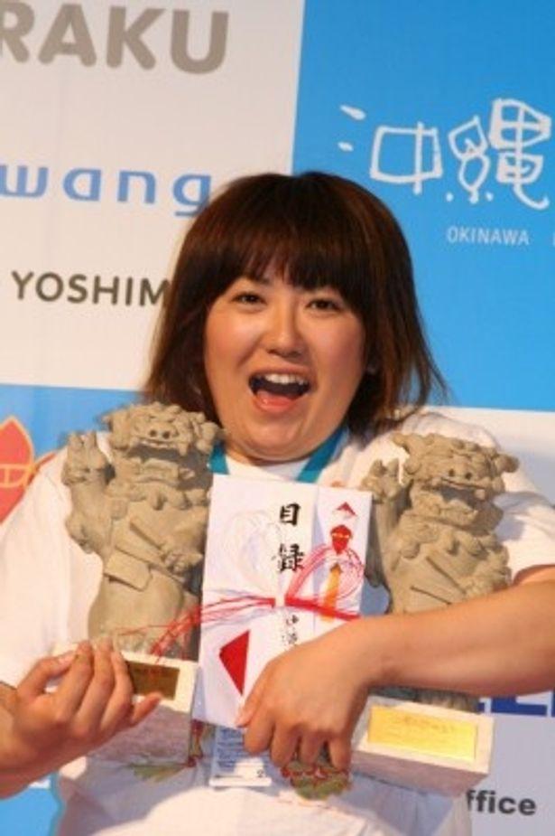 『クロサワ映画』がW受賞!主演黒沢かずこは笑顔
