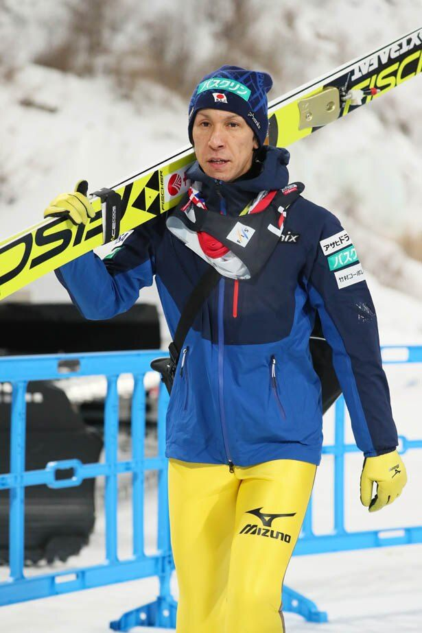 オリンピックは8回目となる葛西選手。その活躍振りに注目が集まる