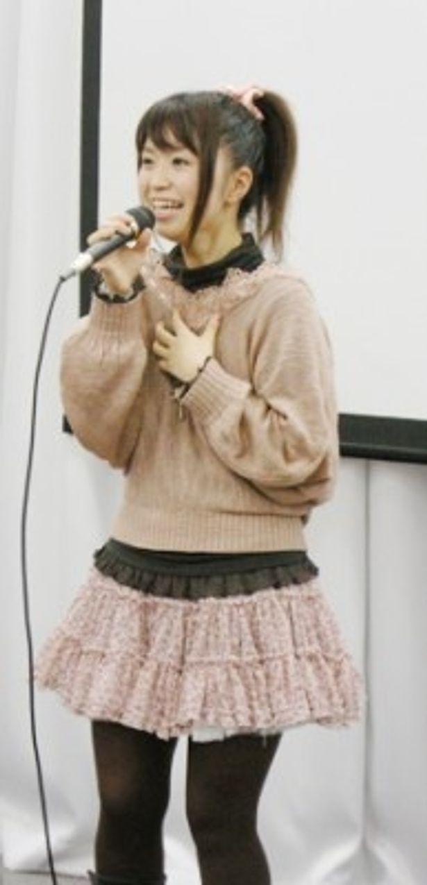 アニメ「おまもりひまり」で主人公・九崎凛子役の声優・野水伊織が初の単独イベントを開催