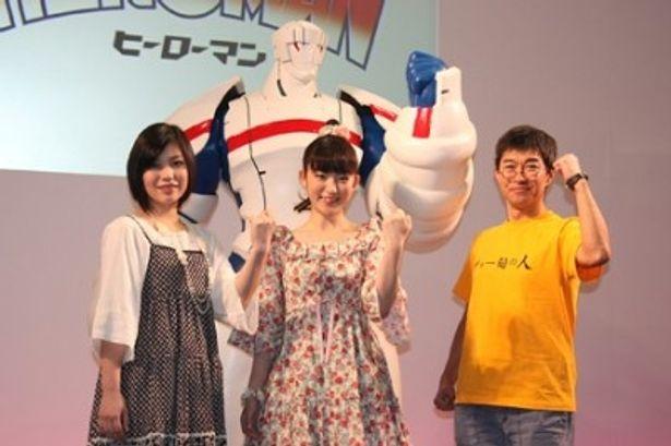 「東京国際アニメフェア2010」でキックオフイベントを行った新アニメ「HEROMAN」