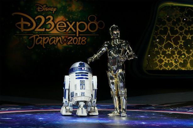 R2-D2とC-3POの名コンビがD23に登場