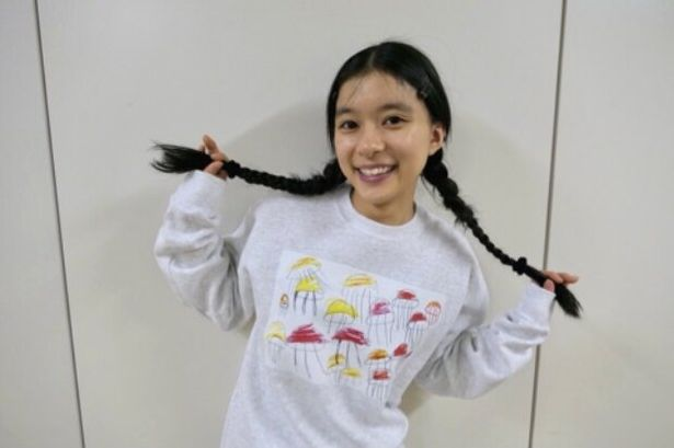 芳根京子がオフィシャルブログを更新し、オフショットを公開した