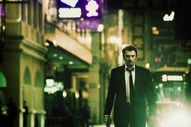フランスの国民的歌手で、『ゴダールの探偵』などの個性派俳優ジョニー・アリディが渋い!