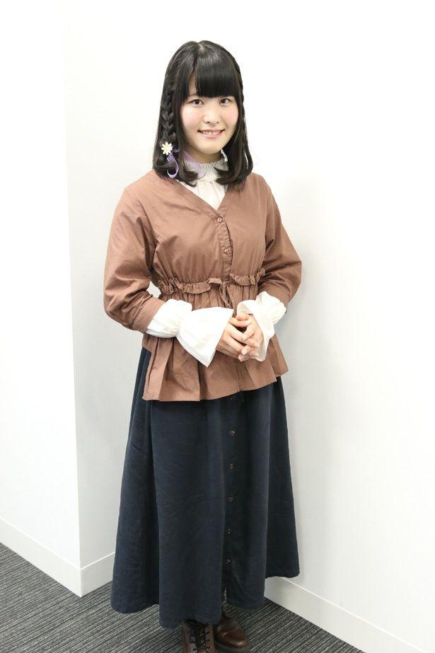 映画初挑戦で主役の大役を担った声優・石見舞菜香