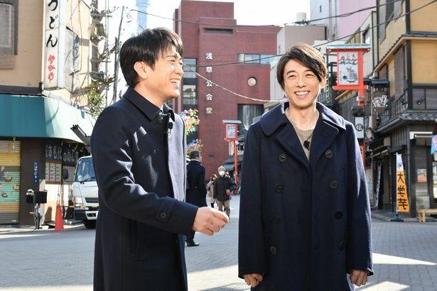 2月23日(金)放送の「ぴったんこカン・カン」に、高橋一生が1年ぶりに登場。安住紳一郎アナの案内で、充実の一日を過ごすことに