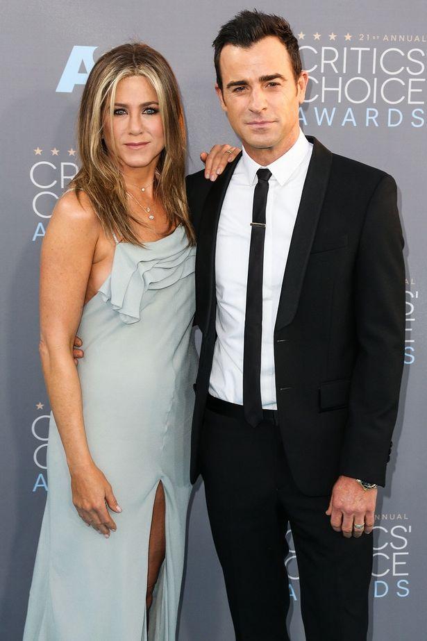先日、離婚したジェニファー・アニストンとジャスティン・セロー