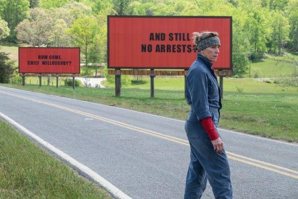 【写真を見る】『スリー・ビルボード』は主演女優賞、助演男優賞の2部門を受賞