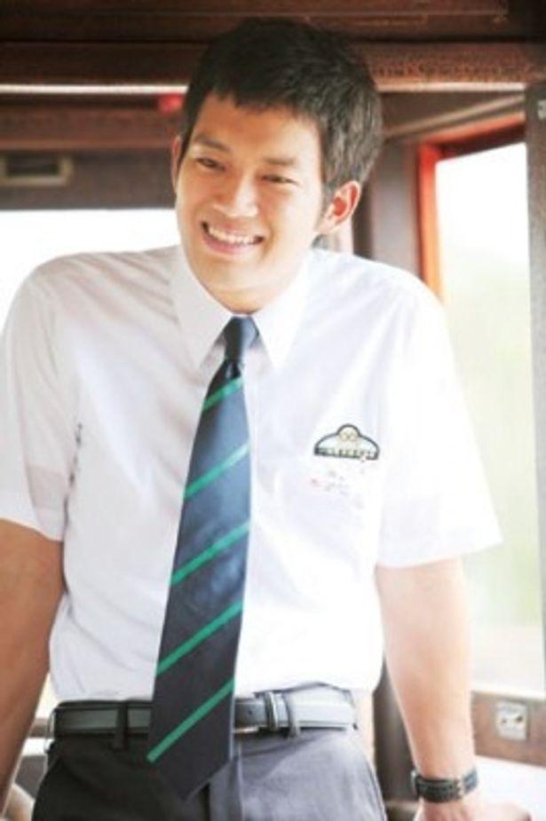 注目の若手俳優・三浦貴大。笑顔がまぶしい!