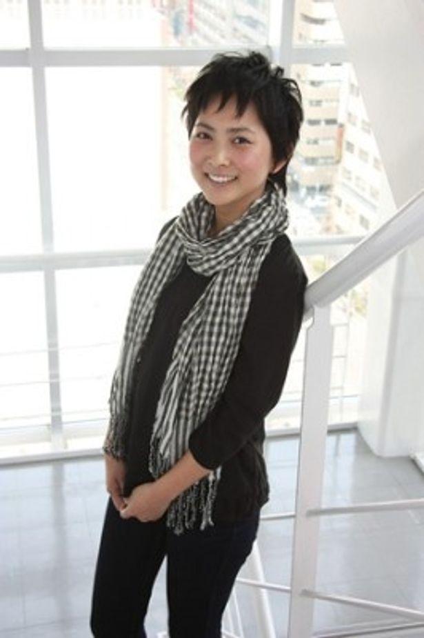ドラマ「やつらは多分宇宙人!」で絵子役を演じた谷村美月