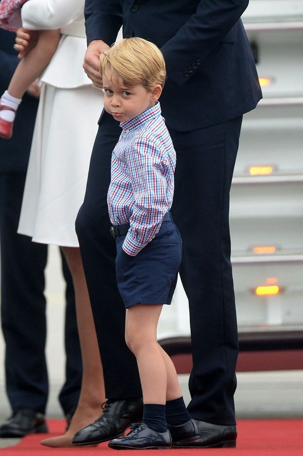 ジョージ王子の夢をウィリアム王子が明かす!