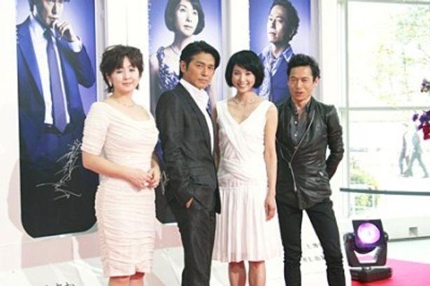 黒木瞳、高橋克典、斉藤由貴、三上博史が大人の恋を熱演