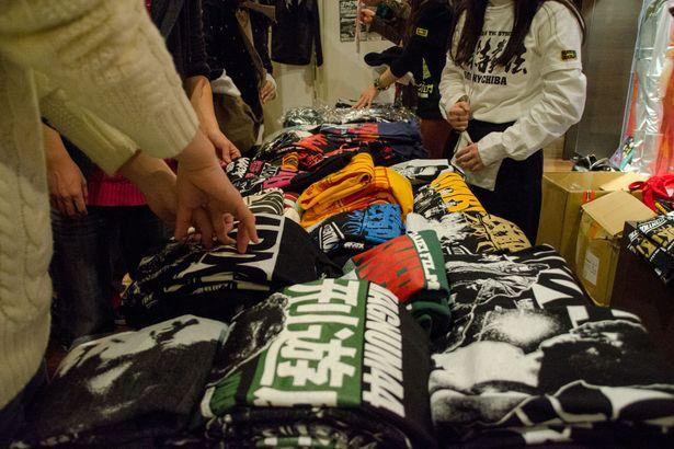 「コアチョコ映画祭」では普段は東中野にある店舗や通販で購入可能なTシャツの販売も