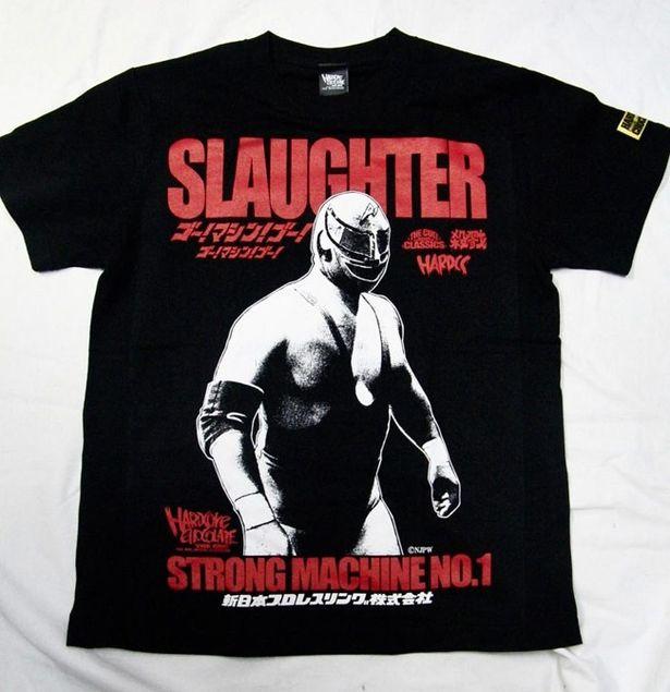 新日本プロレスに現れた謎のマスクマンをモチーフにした「ストロング・マシーン1号(殺戮ブラック)」