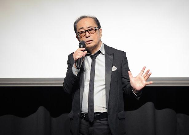 「角川映画 シネマ・コンサート」製作発表で思いを語る大野雄二