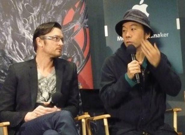トライベッカ映画祭のトークイベントに出席した塚本晋也監督