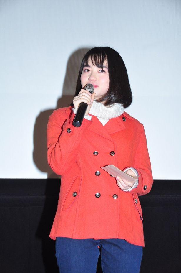 【写真を見る】映画初主演!山田杏奈が流した涙…ほか舞台挨拶の模様をチェック
