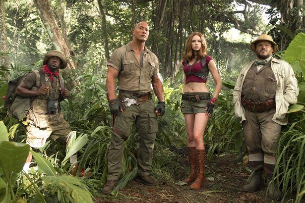 実写映画最高位の3位にランクインした『ジュマンジ/ウェルカム・トゥ・ジャングル』