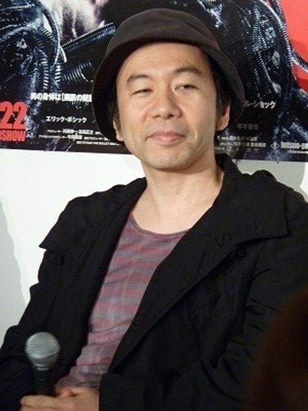 『鉄男』映画秘話を暴露!塚本晋也監督