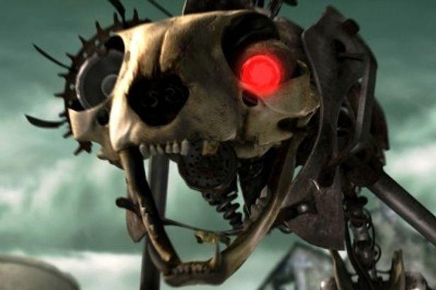 荒廃した世界には機械獣がうようよ。元ネタは『エイリアン2』のエイリアンだが、本家よりかなりキュート!?