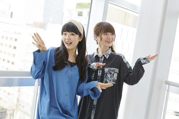 鎧塚みぞれ役の種﨑敦美(写真右)と傘木希美役の東山奈央