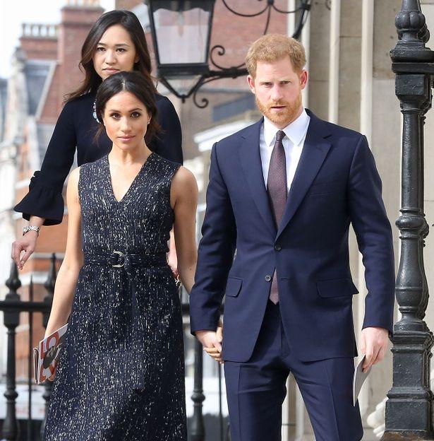 今月挙式を迎えるメーガンとヘンリー王子