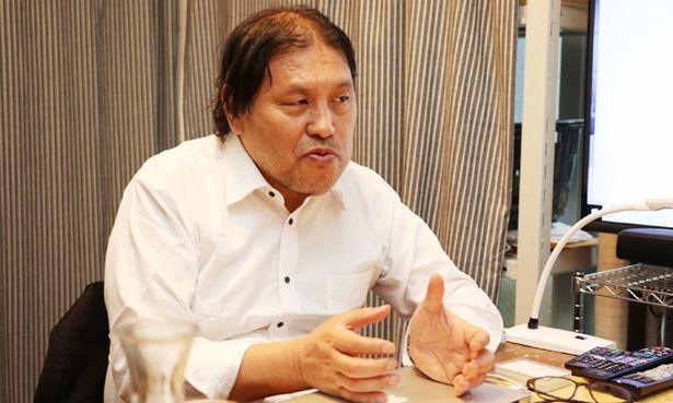 アップリンクの代表取締役である浅井隆氏