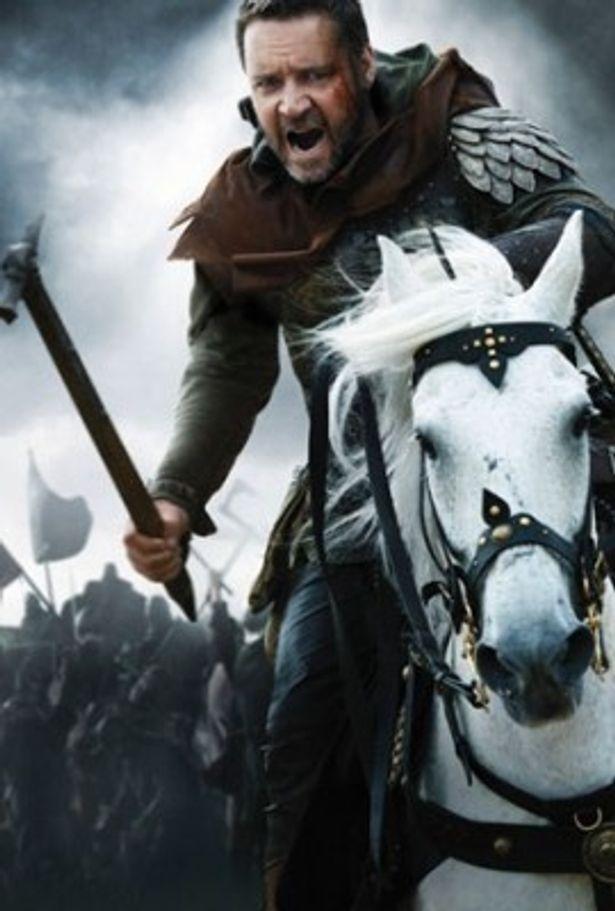 名優ラッセル・クロウが、伝説の英雄ロビン・フッドを熱演!