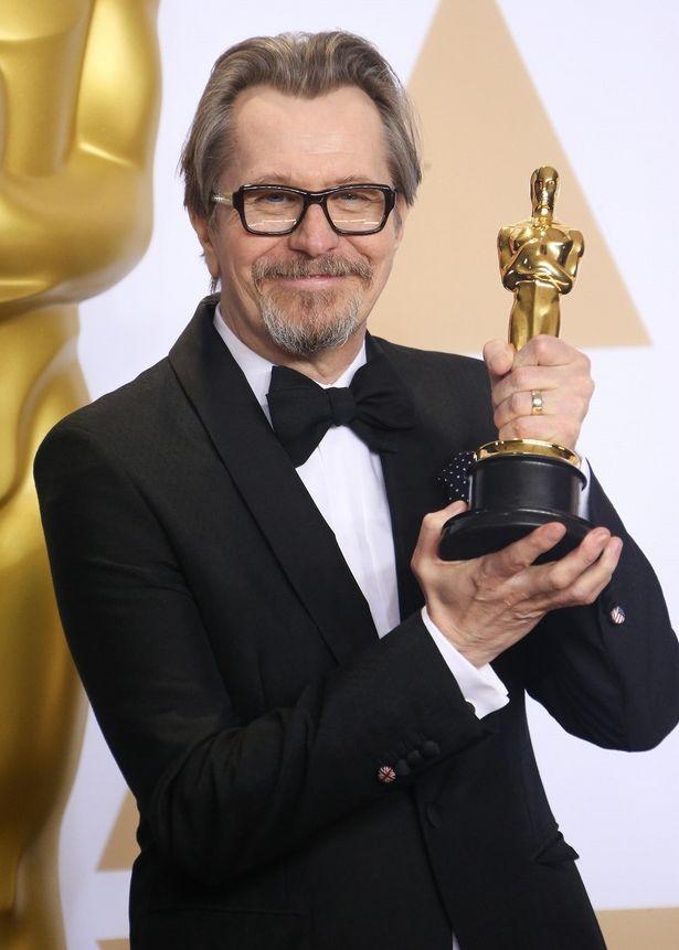 チャーチルを演じて主演男優賞に輝いたゲイリー・オールドマン