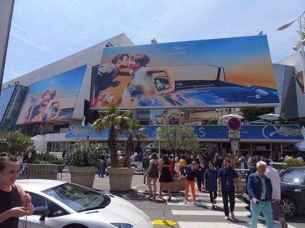 カンヌ国際映画祭の会場。開催期間は8日〜19日(現地時間)