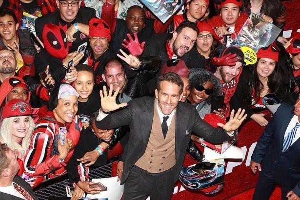 『デッドプール2』のニューヨーク・プレミアでファンが大熱狂!
