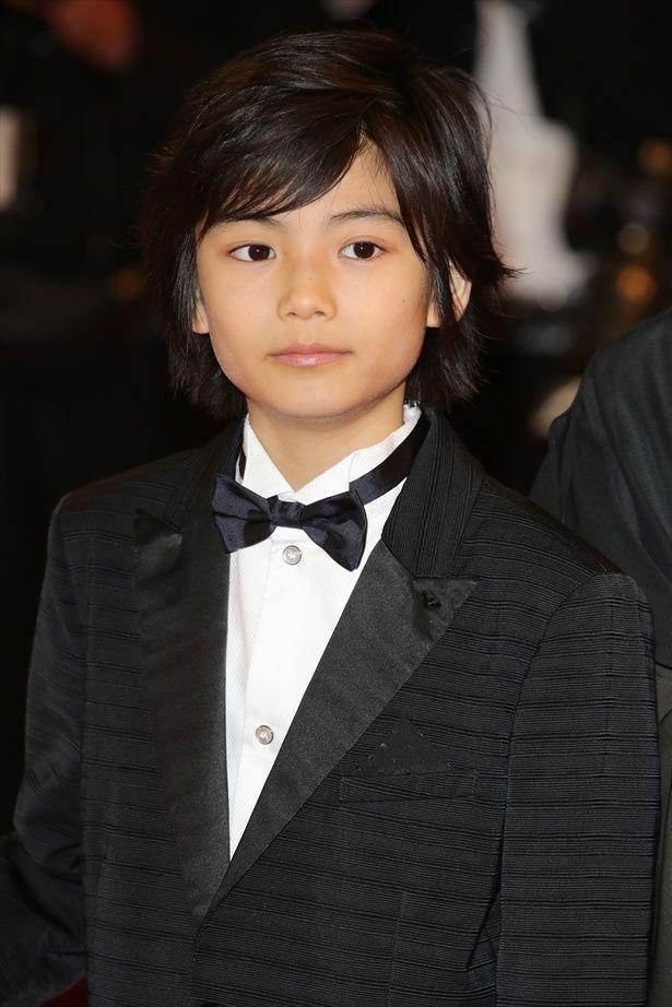 「万引き家族」でカンヌ映画祭へ!11歳の城桧吏に注目