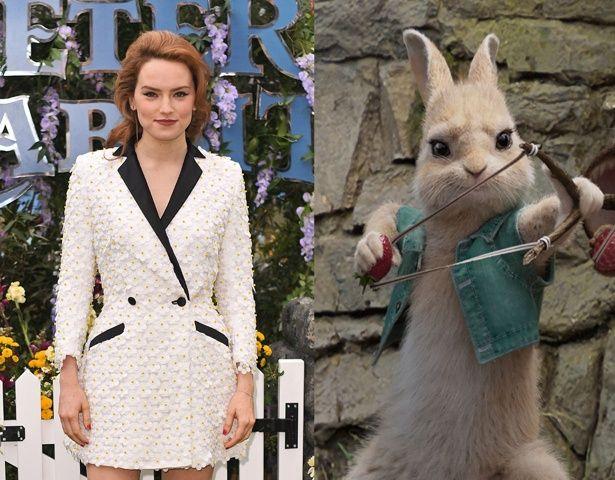 デイジー・リドリーが演じたのは、おてんばな末っ子ウサギのカトンテール