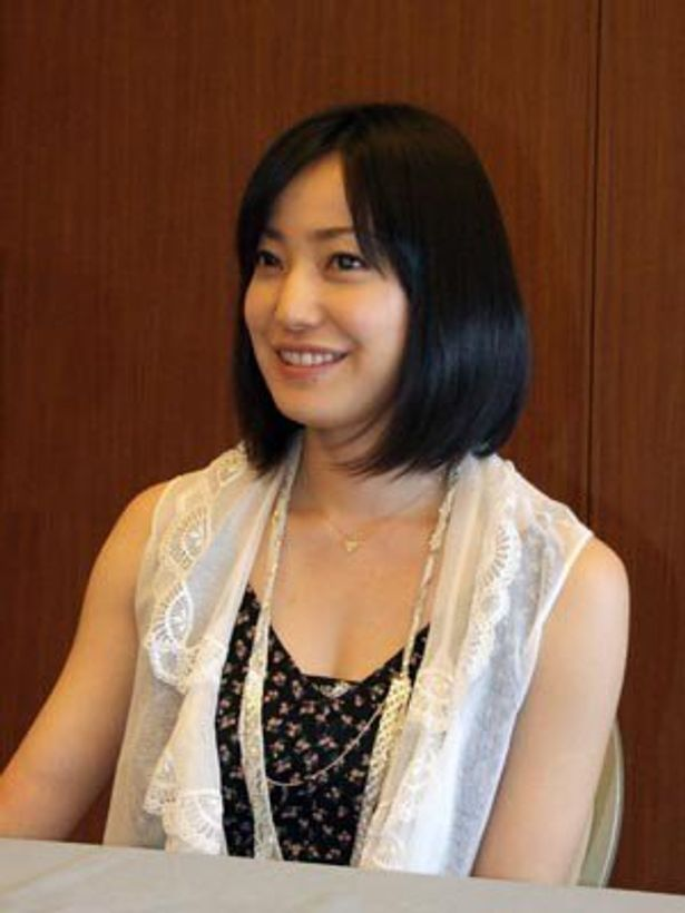 『パーマネント野ばら』が8年ぶりの主演映画という菅野美穂