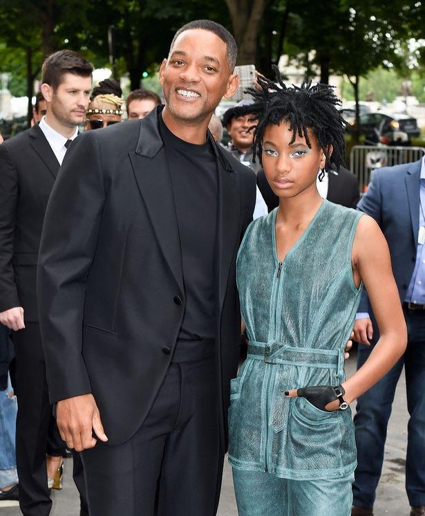ウィル・スミスと娘のウィロー・スミス