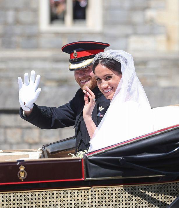 ついに挙式を迎えたヘンリー王子とメーガン