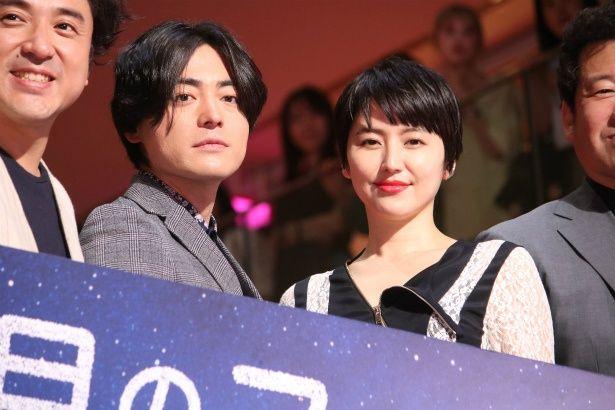 『50回目のファーストキス』で共演した山田孝之と長澤まさみ