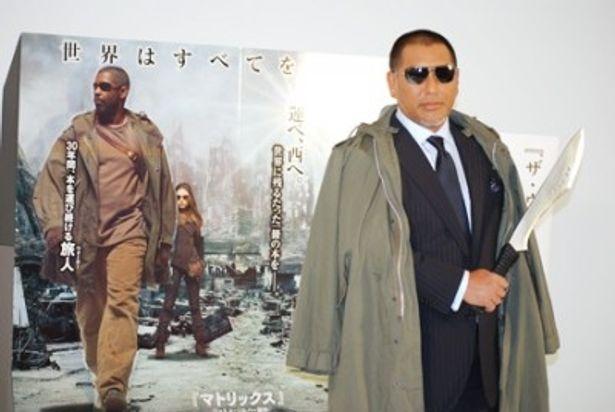 """映画「ザ・ウォーカー」の宣伝番長に就任した""""Vシネマ風!?""""の清原和博氏"""