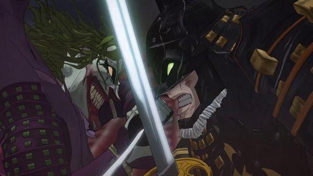 『ニンジャバットマン』よりバットマンとジョーカーの壮絶な斬り合い映像が解禁