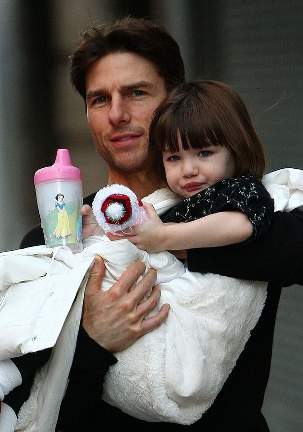 当時2歳の愛娘スリ