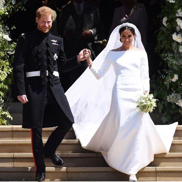 結婚式と打って変わって超地味に?