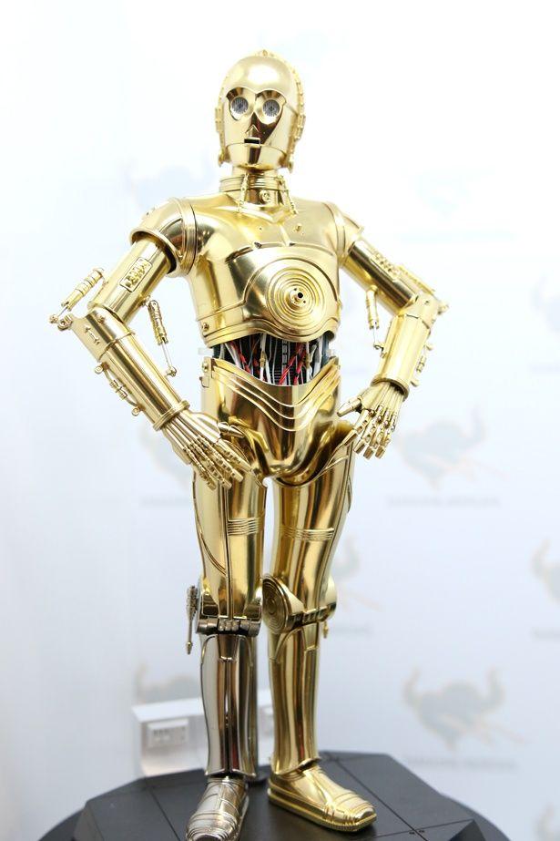 「超合金スター・ウォーズ」のC-3POは、輝きがケタ違いだ!