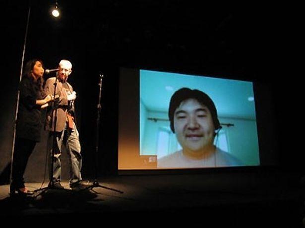 ニューヨークでの『ロボゲイシャ』上映イベントにスカイプで乱入(!?)する井口監督