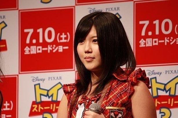 「私も将来は監督になりたいです!」と宣言したAKBの宮崎美穂