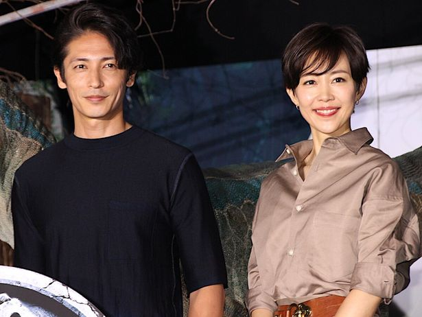 玉木宏と木村佳乃が意気込みを語った