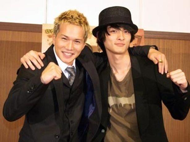 『ボックス!』で固い友情を育んだ市原隼人と高良健吾