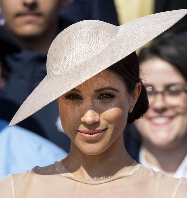 5月にヘンリー王子と結婚式を挙げたメーガン妃